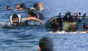 Suben muertes de migrantes que intentan llegar a Europa por el mar