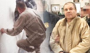 """Así pasaba sus días en prisión el """"Chapo"""" Guzmán"""