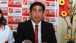 Perú Libre: Arturo Cárdenas reaparece luego de que jueza rechazara prisión preventiva en su contra