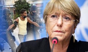 ONU: Michelle Bachelet solicita a Cuba que libere a manifestantes y periodistas presos