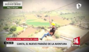 A pocas horas de Lima: conozca Canta, el nuevo paraíso de la aventura