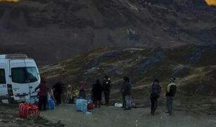 Dos muertos y seis heridos, algunos en estado grave, deja  asalto a pasajeros en Puno