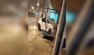 Surquillo: excesiva velocidad habría provocado accidente de lujosa camioneta, según testigos