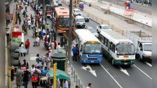 Anuncian paro de transporte para el 21 de julio en Lima y Callao