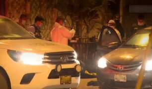 Comas: matan a balazos a extranjero y su acompañante quedó gravemente herido