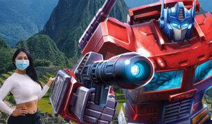 Los Transformers llevan a Machu Picchu hasta Hollywood