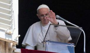 """Papa Francisco envía saludos a los peruanos: """"Tienen un nuevo presidente"""""""