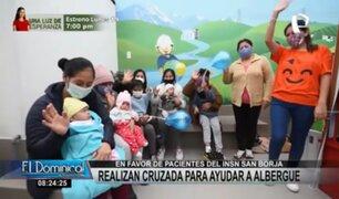Realizan cruzada para ayudar a albergue en favor de pacientes del INSN San Borja