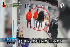 Denuncian agresión contra ciudadano venezolano en galería de Miraflores