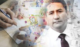 Vladimir Cerrón se quedó sin su primer millón: UIF congeló fondos de origen sospechoso