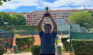 Tenista Gonzalo Bueno se coronó campeón en Italia