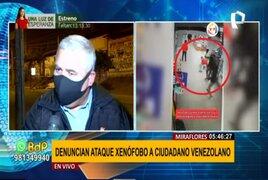 Municipalidad de Miraflores se pronuncia por agresión a ciudadano extranjero en galería