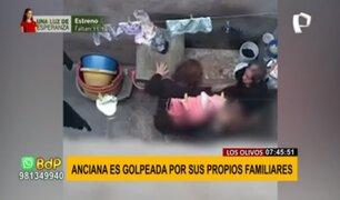 Agresión a anciana en Los Olivos: la obligan a lavarse partes íntimas con agua fría