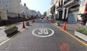 Oficializan límites de velocidad en calles y avenidas del país para disminuir accidentes