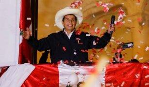 Pedro Castillo es proclamado presidente electo del Perú para el periodo 2021-2026