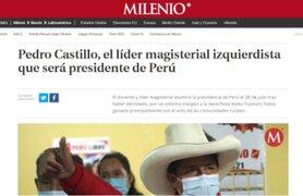 Así informan los medios internacionales sobre la proclamación de Pedro Castillo