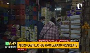 Mercado de Frutas: así están los precios tras proclamación de Castillo como presidente