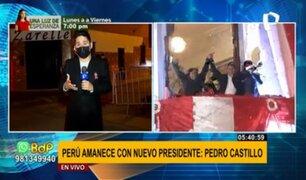Pedro Castillo: contingente policial resguarda exteriores de su vivienda en Breña