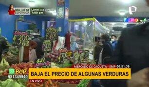 Mercado de Caquetá: precio de pollo se mantiene y costo de verduras baja