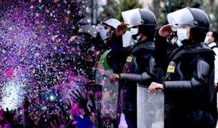 Agreden a policías cuando intervenían masivo cumpleaños en Ayacucho