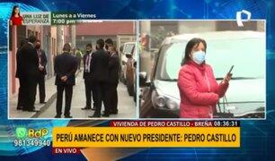 Dina Boluarte: Vicepresidenta electa se reunió con Pedro Castillo en su vivienda
