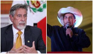 Presidente Sagasti se reunirá hoy con Pedro Castillo en Palacio de Gobierno