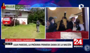 Familia de Pedro Castillo viajaría a Lima entre viernes y sábado