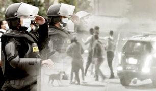 Tumbes: Policía interviene brutal pelea entre sujetos en presunto estado de ebriedad