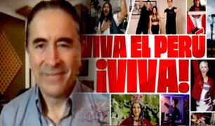 """Arturo Barrientos sobre canción """"El Bicentenario"""": """"yo dirigía todo a través de Zoom"""""""