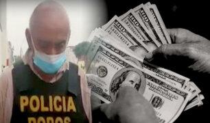 Detienen a 'marca' que robó US$5, 000 a madre e hijo en El Callao