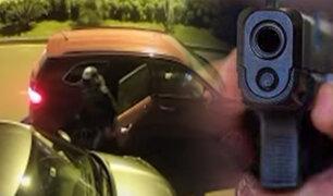 Delincuentes que asaltaron a propietarios de un edificio serían los mismos que robaron camioneta en Surco