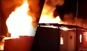 Piura: Más de 10 viviendas fueron destruidas en voraz incendio