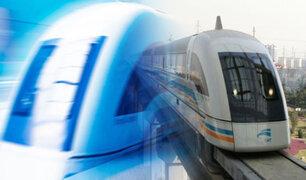 Este es el tren más rápido del mundo y funciona con levitación magnética