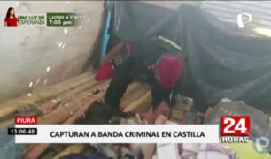 Piura: caen presuntos miembros de banda que cometía asaltos al paso
