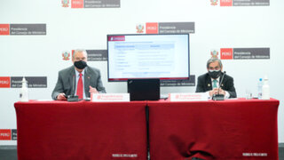 Ministros de Salud y Relaciones Exteriores brindaron balance de su gestión