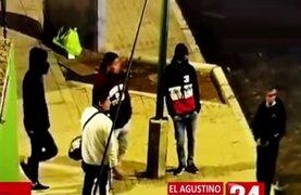 El Agustino: barristas linchan a sereno que les pidió no arrojar basura en la calle