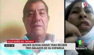 VMT: mujer se encuentra al borde de la muerte tras ser baleada por su expareja