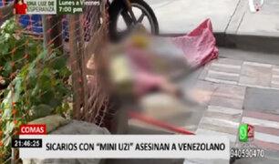 Comas: sicarios en dos motos acribillaron a mototaxista de nacionalidad venezolana
