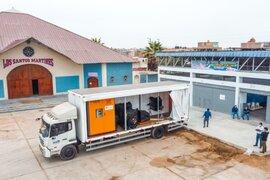 Chimbote: Planta de oxígeno quedó apta ante probable tercera ola
