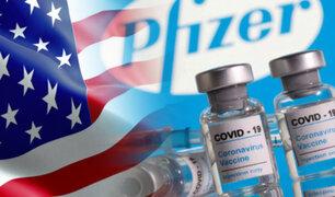 EEUU donará 200 millones más de dosis de vacunas de Pfizer a naciones con pocos recursos