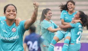 Universitario de Deportes goleó 14-0 al UTC en la Liga Femenina