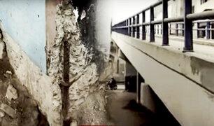 Puentes peatonales en mal estado: Línea 1 del Metro busca disminuir afectación a vecinos