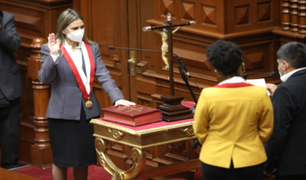 Reacciones tras elección de María del Carmen Alva como titular del Congreso