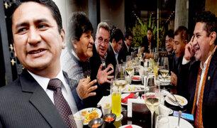 Cerrón tras cena con expresidente Morales: mañana serán reuniones protocolares con Castillo