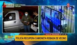 VES: recuperan camioneta que fue robada en la puerta de una vivienda
