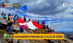 Rinden homenaje a la patria por el Bicentenario en Huánuco, Tumbes y La Libertad