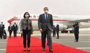 Rey Felipe VI llegó al país para investidura del presidente Pedro Castillo