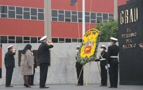 Marina de Guerra conmemora natalicio de Miguel Grau y reafirma compromiso en el Bicentenario