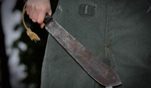 Ladrones con machetes asaltaron tienda y amedrentaron a trabajadora en Piura