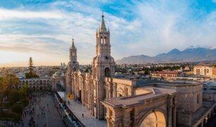 Arequipa: Carnaval celebra 481 Aniversario en Plaza de Armas